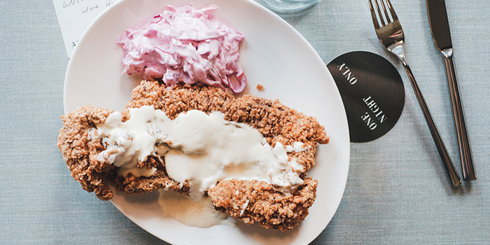 Chicken Fried Steak from One Night Only in River Valley, Singapore