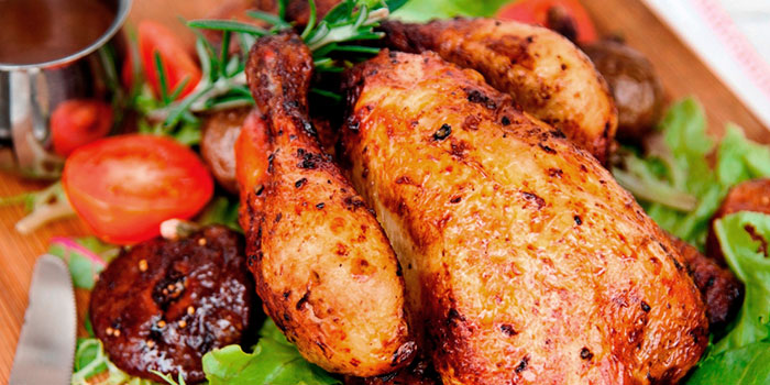 Roasted Spring Chicken from Privé Orchard in Orchard Road, Singapore