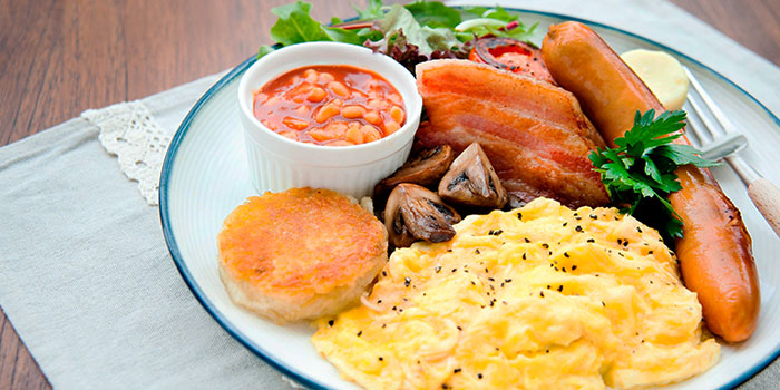 Ultimate Signature Breakfast from Privé Orchard in Orchard Road, Singapore