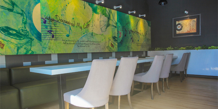 Restaurant Atmosphere of Kenny Rogers Roasters in Cherngtalay, Thalang, Phuket, Thailand