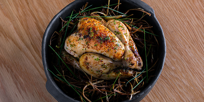Roasted Spring Chicken from Xperience Restaurant in SO Sofitel Singapore in Raffles Place, Singapore