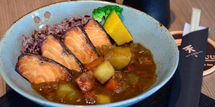 Salmon Curry from Tenyuu Sho at The Emquartier, Bangkok