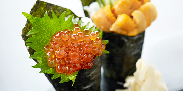 Hand Roll from Shima Restaurant at Goodwood Park Hotel in Orchard, Singapore