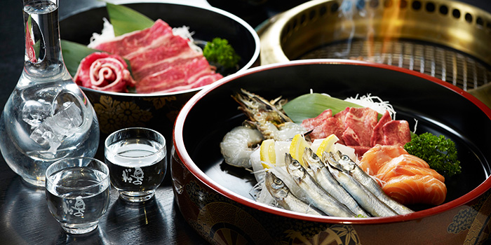 Shabu Shabu from Shima Restaurant at Goodwood Park Hotel in Orchard, Singapore