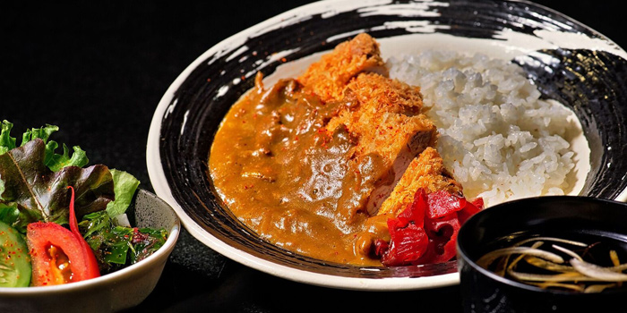 Soraya Curry Rice Pork Katsu from Soraya Japanese Steak & Izakaya in Surawong Center Alley, Bangkok