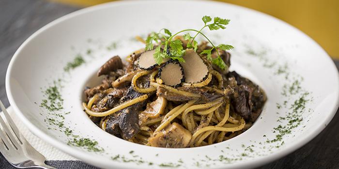 Spaghetti Mixed Mushroom, Westwood Carvery, Lan Kwai Fong, Hong Kong