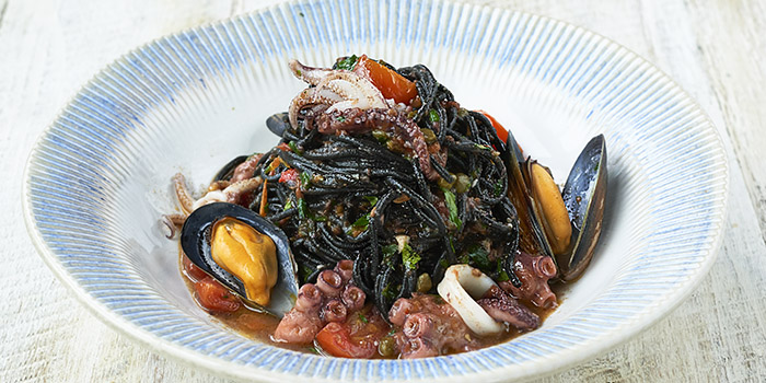 Squid Spaghetti, Jamie's Italian, Tsim Sha Tsui, Hong Kong