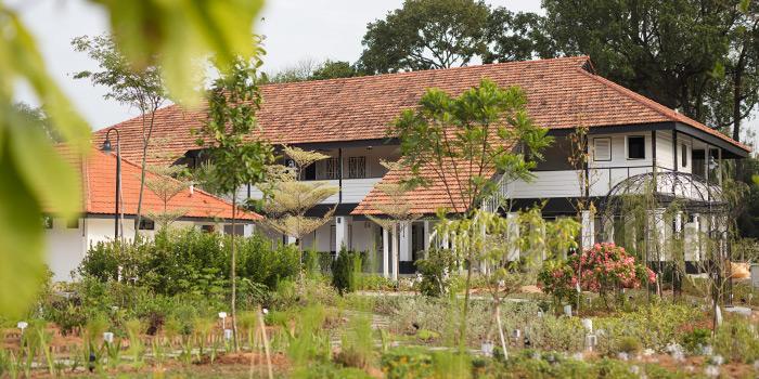 Garden in Summerhouse in Seletar, Singapore