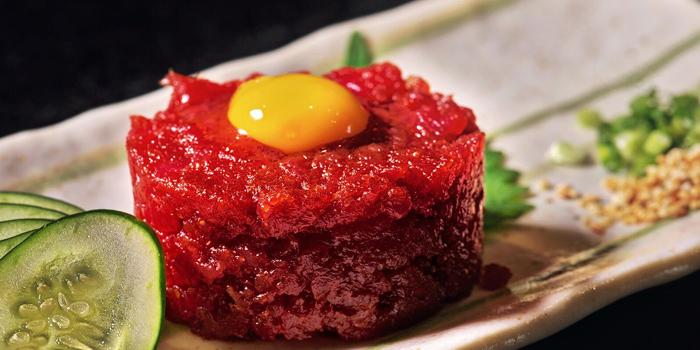 Yukke from Soraya Japanese Steak & Izakaya in Surawong Center Alley, Bangkok