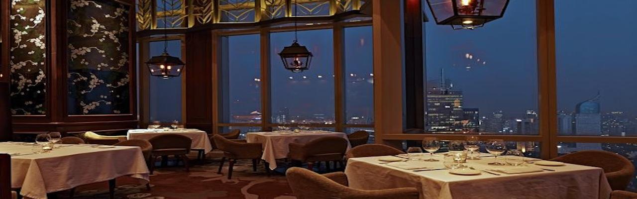 Italian restaurant overlooking the stunning Jakarta skyline!