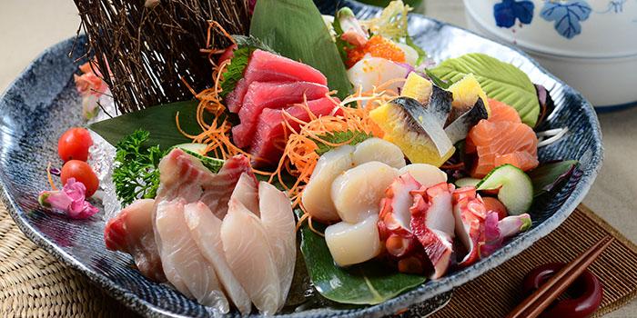 Assorted Sashimi, Cafe Allegro, Tsim Sha Tsui, Hong Kong