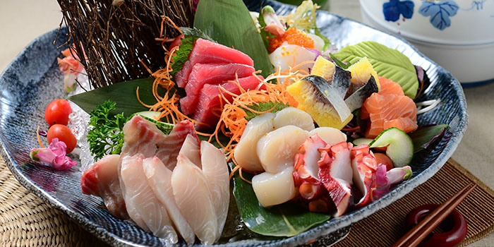 Assorted Sashimi, Cafe Allegro, Tsim Sha Tsui, Hong Kong