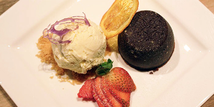 Chocolate Lava Cake from Beer Xchange in Clarke Quay, Singapore