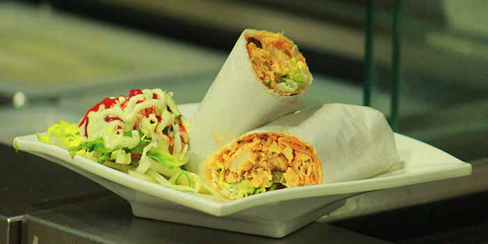 Kebab from Beer Factory in Raffles Place, Singapore