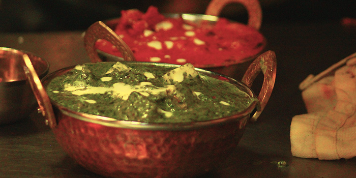 Palak Paneer from Beer Factory in Raffles Place, Singapore