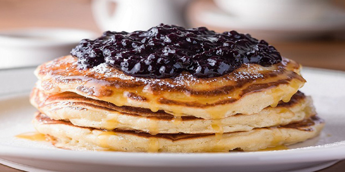 Pancakes from Clinton Street Baking Company in Bugis, Singapore