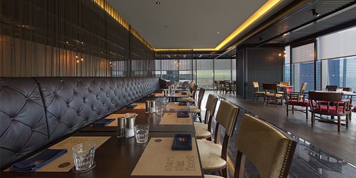 Table Seating of Cook & Brew at The Westin Singapore in Marina Bay, Singapore