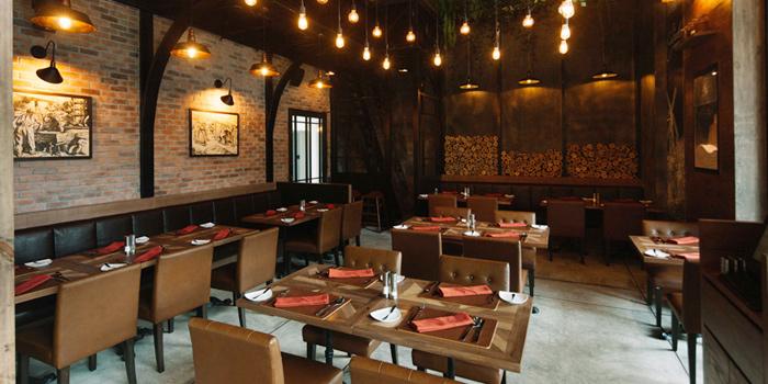 Dining Area from The Cured Chamber at Somerset Ekamai Bangkok, Bangkok