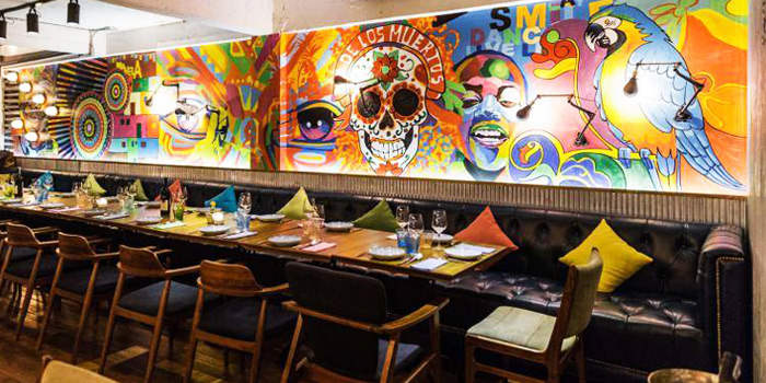 Dining Table from Clandestino Cantina in Sathorn Soi 10, Bangkok