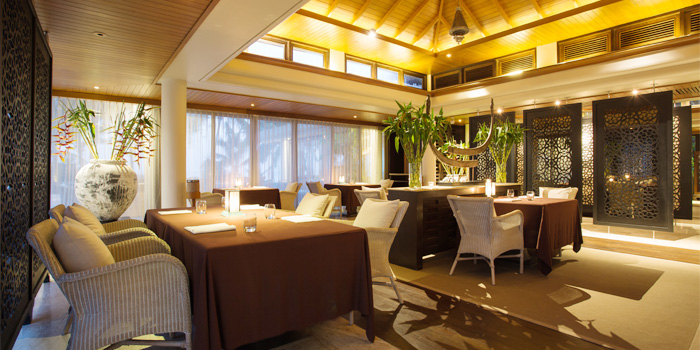 Dining Area of PRU in Cherngtalay, Phuket, Thailand