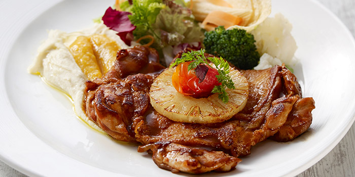 BBQ Chicken Steak from Eatzi Gourmet Bistro (ITE Ang Mo Kio) in Ang Mo Kio, Singapore