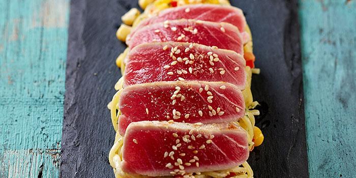 Tuna Poke from Fasta at South Beach Avenue in Bugis, Singapore