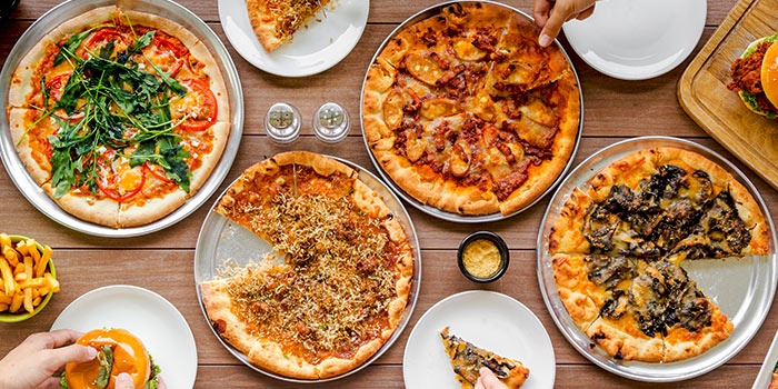 Pizza from GRUB in Ang Mo Kio, Singapore