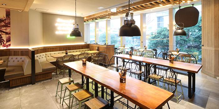 Interior, Viet Lime Café & Restaurant, Tseung Kwan O, Hong Kong