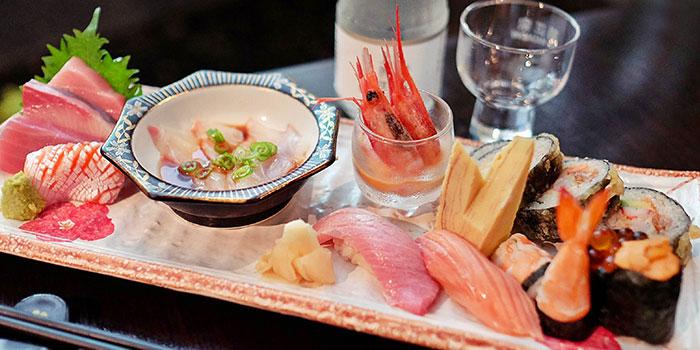 Assorted Sashimi from Kiraku in Raffles Place, Singapore