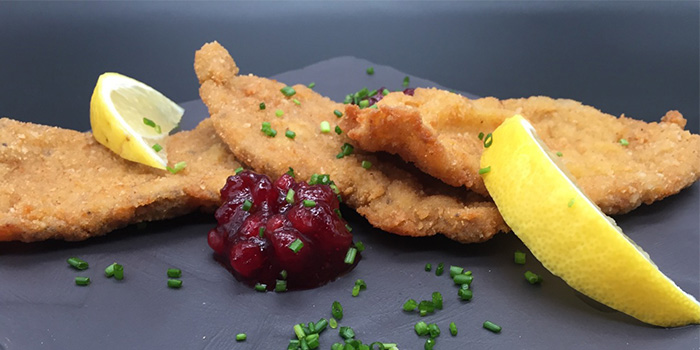 Mini Schnitzel from Leopold in Tanjong Pagar, Singapore