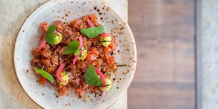 Tuna Tartare, Avocado, Spicy Sesame from Moosehead Kitchen & Bar in Telok Ayer, Singapore