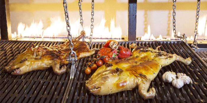 Parilla Grill from Goji kitchen + Bar at Bangkok Marriott Marquis Queen