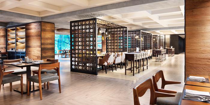 Restaurant Ambience of Goji kitchen + Bar at Bangkok Marriott Marquis Queen