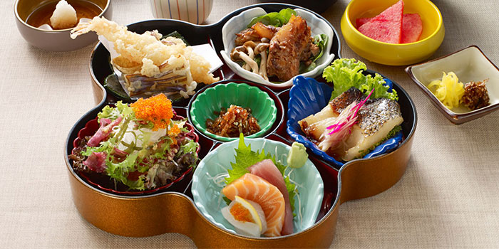 Food Spread from Restaurant Hoshigaoka (The Grandstand) in Bukit Timah, Singapore