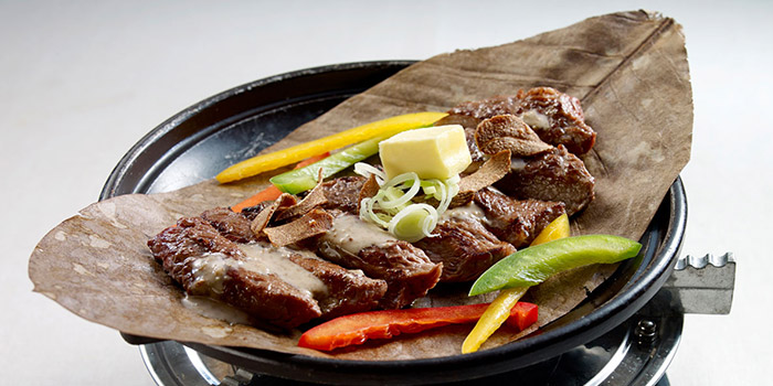 Goma Beef from Restaurant Hoshigaoka (The Grandstand) in Bukit Timah, Singapore