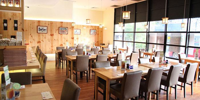 Interior of Restaurant Hoshigaoka (The Grandstand) in Bukit Timah, Singapore