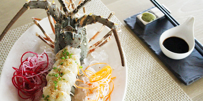 Seafood-Lobster from The Deck in Cherngtalay, Phuket, Thailand
