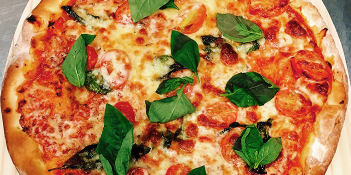 Pizza Margherita from The Terminal in Yio Chu Kang, Singapore