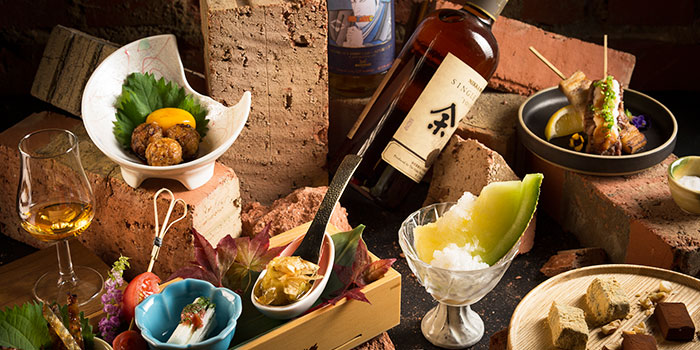Omakase Whisky Pairing Set from The Wall Singapore in Tanjong Pagar, Singapore
