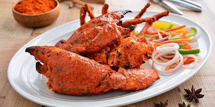 Tandoori Crab from Apolo Bistro in Little India, Singapore