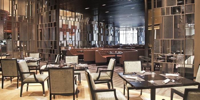 Interior 2 at Asia Restauran Ritz Carlton, Jakarta