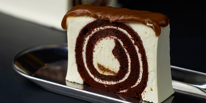 Swirl Cake from Awfully Chocolate (Holland Village) in Holland Village, Singapore