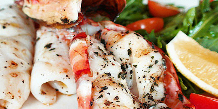 Calamari Gamberi from Bella Pasta in Robertson Quay, Singapore