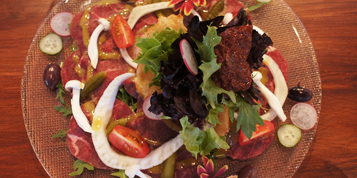 Beef Carpaccio from Baci Baci in Serangoon, Singapore