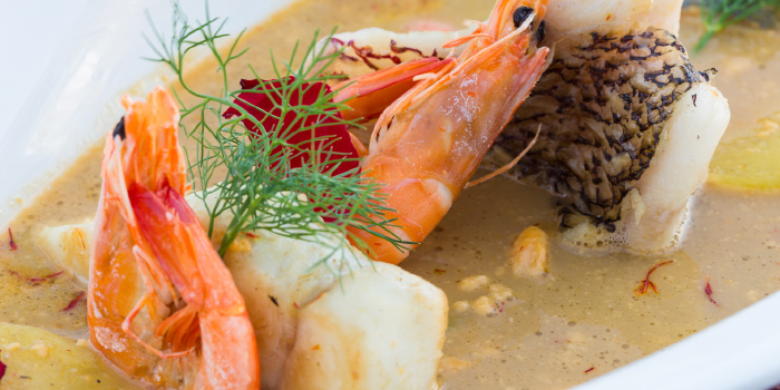 Bouillabaisse from White Box Restaurant in Patong, Kathu, Phuket, Thailand