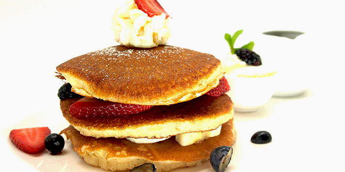 Pancakes from Brunetti in Tanglin, Singapore