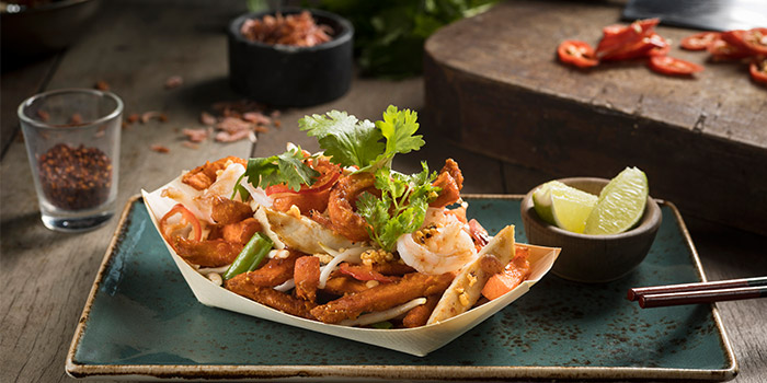 Pad Thai Fries from Cook & Brew at The Westin Singapore in Marina Bay, Singapore