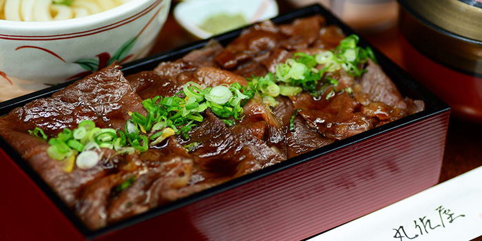 Beef from Marusaya in Robertson Quay, Singapore