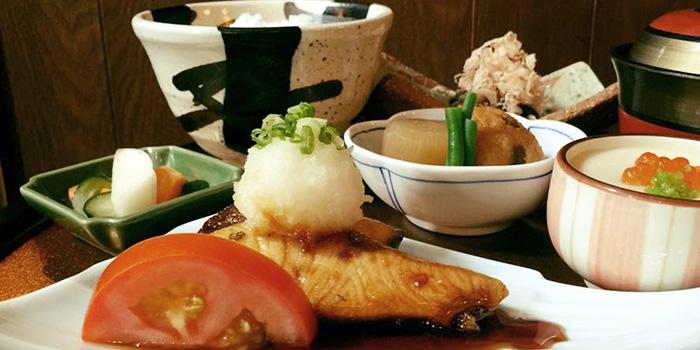Special Buri and Salmon Teriyaki from Marusaya in Robertson Quay, Singapore