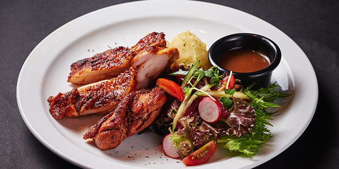 Cajun Chicken Chop from Espressolab at China Square Central in Raffles Place, Singapore